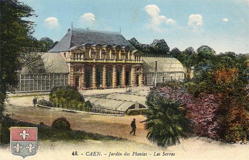 caen autrefois le jardin des plantes - Jardin Des Plantes Caen