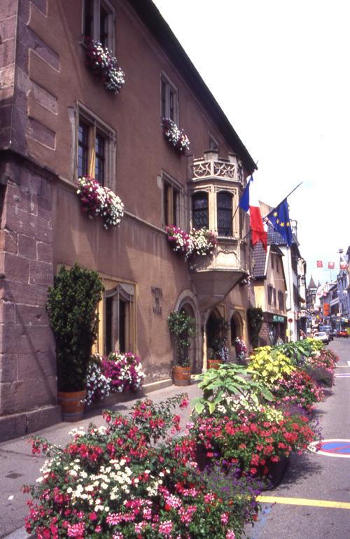 Guebwiller Ville Fleurie Du Haut Rhin En Alsace
